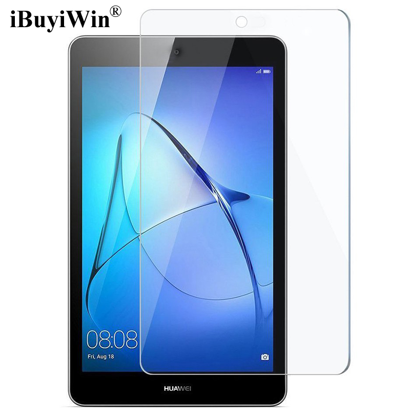 iBuyiWin 9H Tempered Glass for Huawei MediaPad T3 7.0 BG2-W09 Screen Protector Film for Huawei T3 7 Wifi Version Protective Film