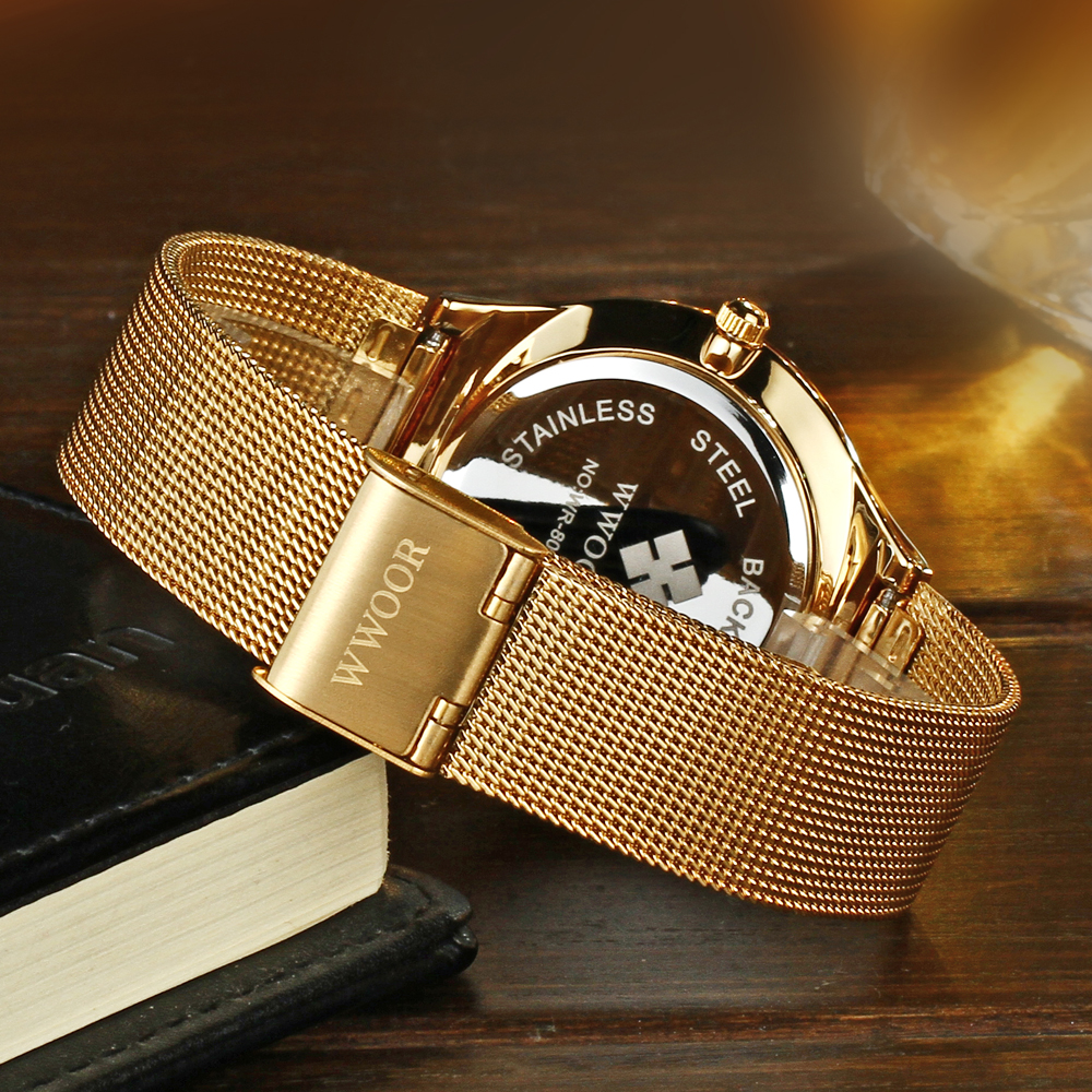 Классические настенные часы с золотой каймой в современном стиле, роскошные абстрактные бесшумные настенные часы - 4
