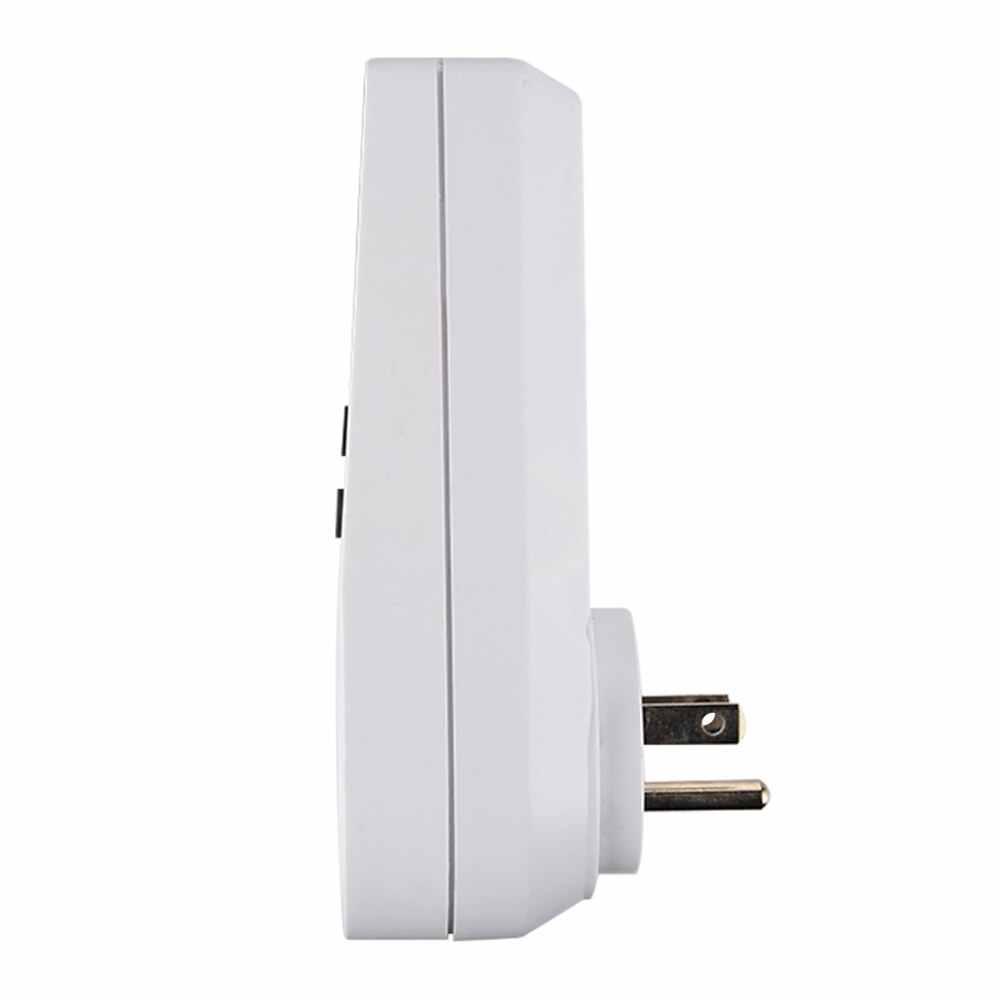 Cyfrowy Plug-in wyłącznik czasowy gniazdo wyświetlacz LCD 10 programowalne przełączania programów oszczędzania energii Timer gniazdo do sprzętu elektrycznego gospodarstwa domowego