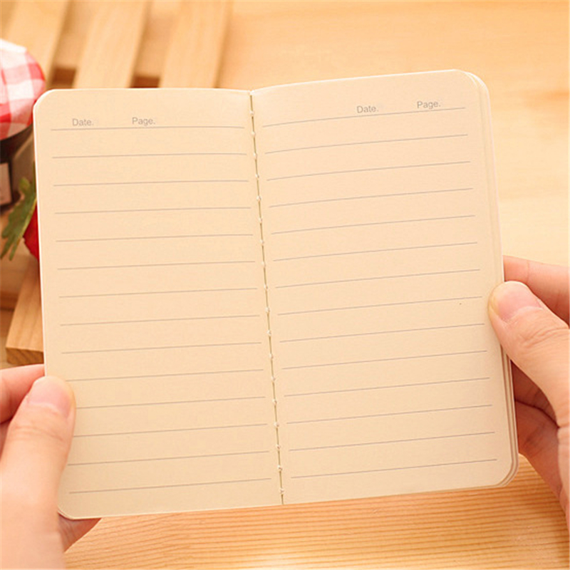 DL South Korea stationery beautiful wind 80K car line this small notebook small gift sellers Diary Pocket Notepad Graffiti Book