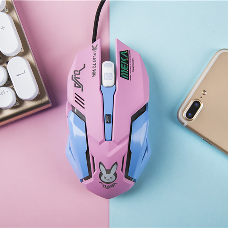 Reasonable Newest Animation Wired Mouse D.va Reaper Genji Saber Banshee Game Ow Lol Anime Fate Gundam Original For Players We Take Customers As Our Gods Costumes & Accessories