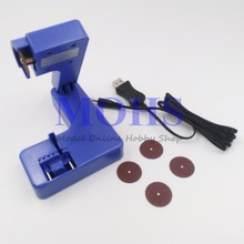 スケールrcモデルツールシリーズトランペッター09952電動カッター09952に建てli poバッテリーusb充電器w/エメリーカッターdiyツール