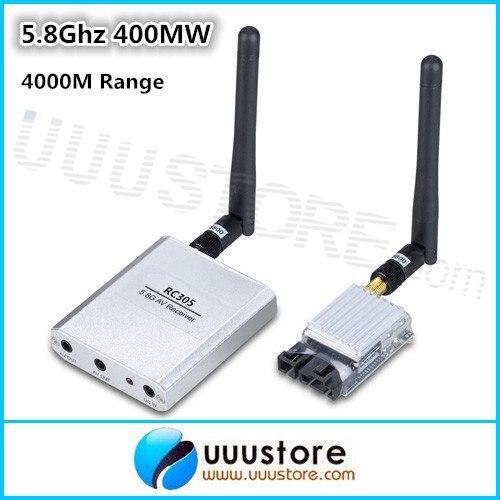 все цены на 100% original Boscam  5.8G 5.8Ghz 400mW 8 Channel FPV AV Transmitter&Receiver TS353+RC305 For RC Car MultiCopter 4Km Range онлайн