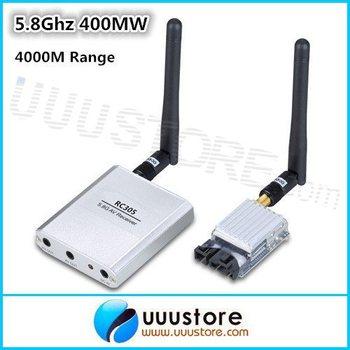 100% original Boscam  5.8G 5.8Ghz 400mW 8 Channel FPV AV Transmitter&Receiver TS353+RC305 For RC Car MultiCopter 4Km Range