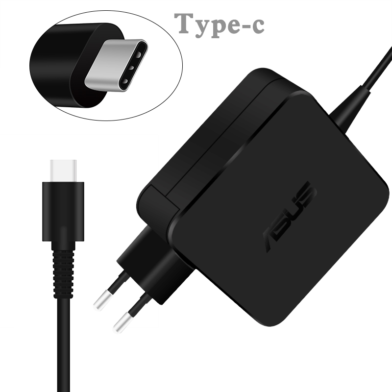 45W Type-C AC Adapter Charger Power Supply For Asus Laptop T