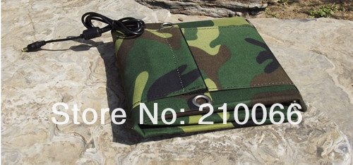 solar bank Free shipping 20W waterproof foldable solar Charger Outdoor Trip Charging USB Output  20000MAH Battey Charger