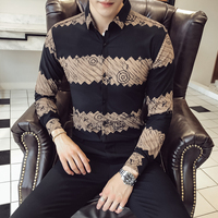 Type Version Correct Quality Good Autumn And Winter Yuppie Gentleman New Pattern Shirt 213 1 614 P55