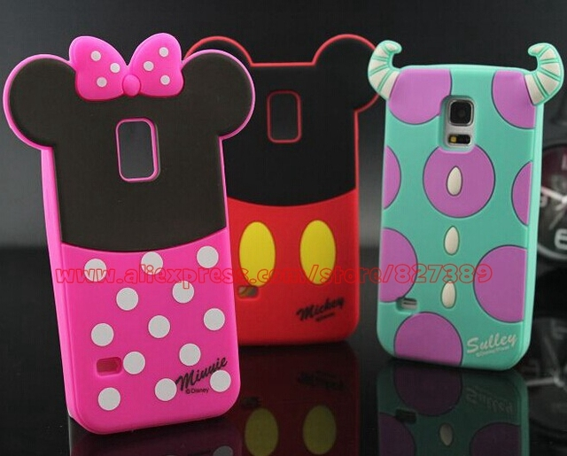 Galaxy Screen Picture More Detailed About Funny Cartoon Case Minnie Mouse Silicone Phone