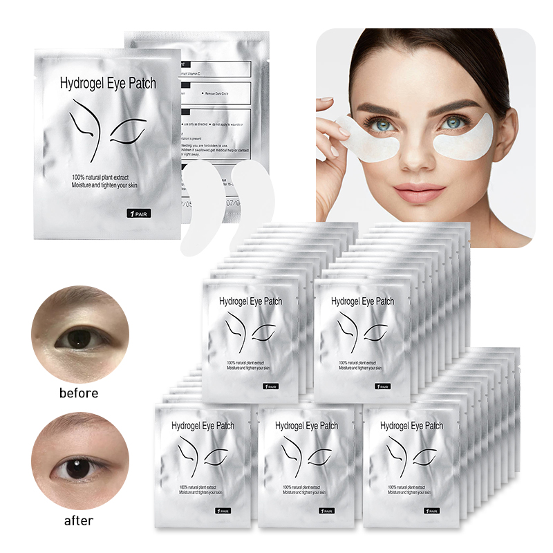 2/10/20/50Pcs Eye Patches Anti-wrinkle Collagen Eyelash Pad Eye Mask Face Care Gel Patch Lint Free Lashes Extension Eyepads Mask