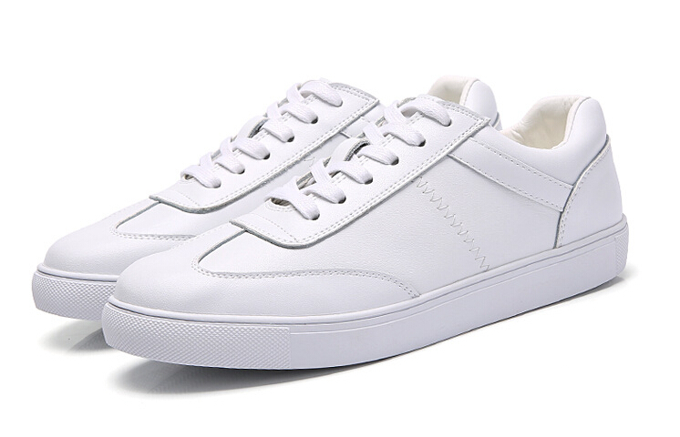 women shoes Genuine leather Lace-Up flats white shoe Soft bottom loafers Casual Shoes size 35-40 27