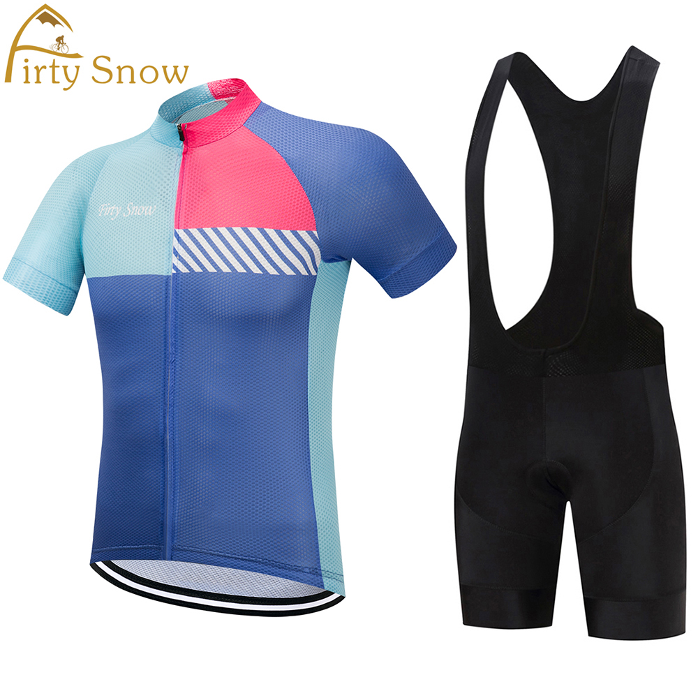 NEW Firty snow Cycling Clothing Ropa Ciclismo Short sleeve Summer Breathable Mens Cycling jersey 2017 Pro Team MTB bike jersey