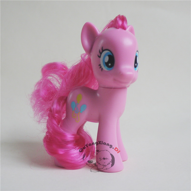 P8-088 Action Figures 8cm Little Cute Horse Model Doll Pinkie Pie Anime Toys for Children(China)