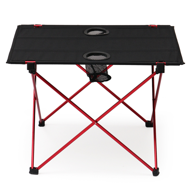 us 49 38 tomshoo outdoor ultralight portable folding mini camping picnic table aluminum alloy instant pop up table desk bbq furniture in outdoor rh aliexpress com pop up tablette samsung pop up table view swift