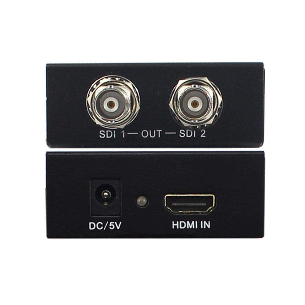 Full HD 1080P Mini HDMI Zu SDI3G-SDI zu HDMI Converter Video Audio Adapter