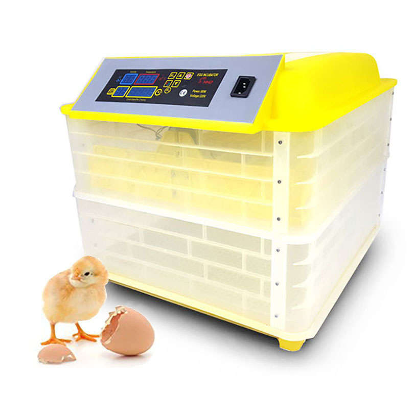 96 Eggs Automatic Egg Incubators Fully Hatchery Machine Mini 48 Chicken Sale Auto Turn For Duck Pigeon Parrot Poultry Supplies