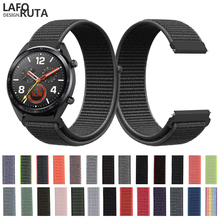 Laforuta for Huawei GT Watch Strap Band Nylon 22mm Quick Release Watchband Huami Amazfit Wristband Honor Magic Loop