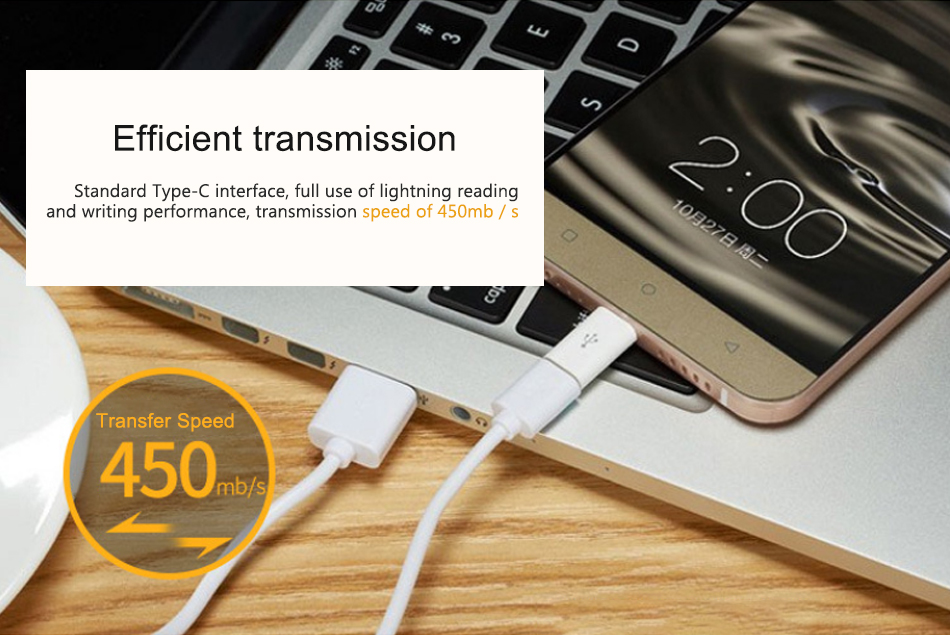 !ACCEZZ USB C to Micro USB OTG Adapter Type C Converter For One Plus 5 For LG G5 G6 Xiaomi Mi 5 6 Samsung S8 OTG Charge Adapter (9)
