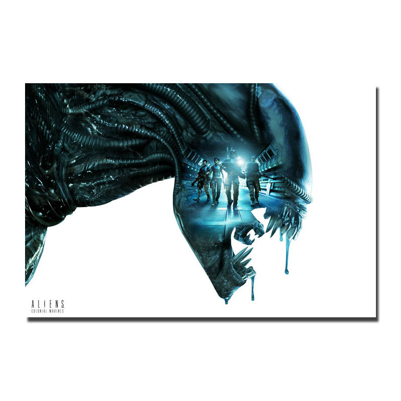 Alien Covenant Movie Art Silk Poster Print 13x20 32x48 inches