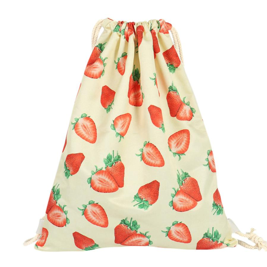 Online Buy Wholesale strawberry drawstring bag from China ...