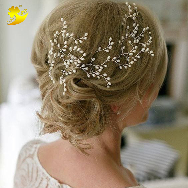 Xinyun Women Hair Pins Simple Hair Jewelry Bridal Hair Accessories  E bay Hot Selling Wedding Jewellery Handmade Hairpins Hair
