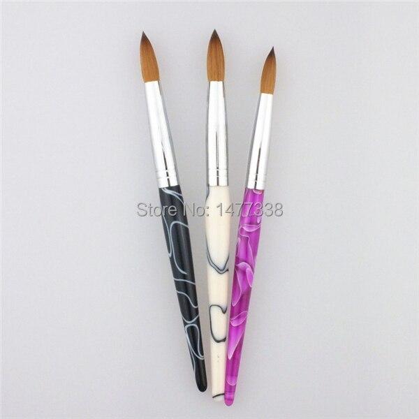 Hot Sale! Factory Direct,SIZE 16 Nail Brush,100% Kolinsky Acrylic ...