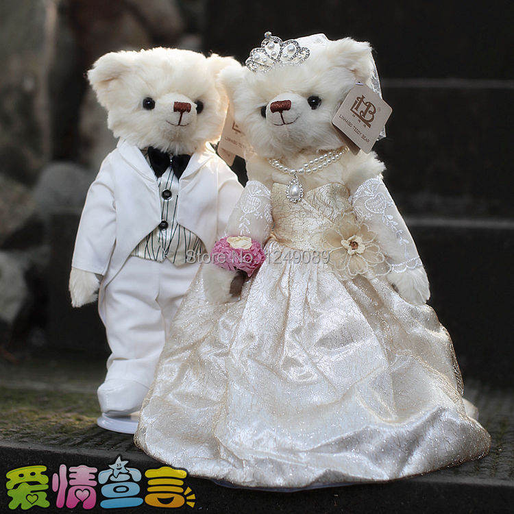 https://ae01.alicdn.com/kf/HTB1qPcoKpXXXXbMXFXXq6xXFXXXD/wedding-gift-Mr-Lin-wedding-bear-Forever-love-wedding-dress-teddy-bear-36cm.jpg