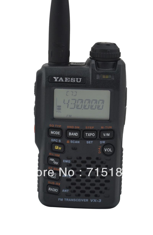 Yaesu VX-3R Radio Ultra-compact Dual Band Handheld FM Transceiver/two Way Radio/yaesu Walkie Talkie Interphone