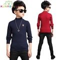 Kids Sweaters For Boys Brand Clothes Boy Knitted Turtleneck Sweaters Spring Children Clothing Autumn Teenage Boys Tops H011