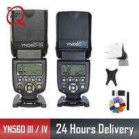 YONGNUO Original YN 560 III IV Wireless Master Flash Speedlite for Nikon Canon Olympus Pentax DSLR Camera Flash Speedlite