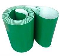 2060mm x 230mmx5mm PVC Green Transmission Conveyor Belt Industrial Belt