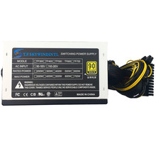 12V PSU 600W power supply Desktop ATX PC Power Supply LED Gaming 120MM Fan computer 24pin SATA