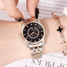 Women quartz watch Luxury Ladies Rolexable Waterproof Calendar Unique Quartz Bus