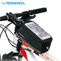 NaturalHome Roswheel 5.2' 5.7' inches Bicycle Bag Mobile Phone Case Bag Pouch Riding Equipment Bike Cycling Bag