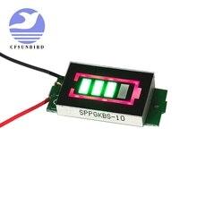 CFsunbird 1S одиночный 3,7 V уровень мощности литиевая батарея Емкость синий дисплей индикаторный модуль