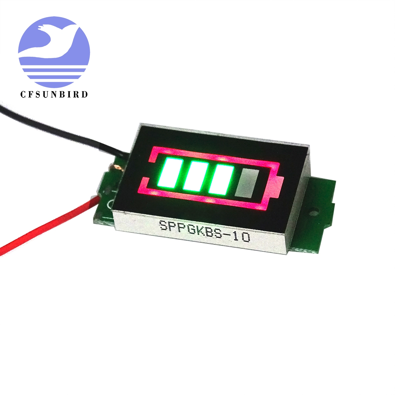 Cfsunbird 1s Single 37v Power Level Lithium Battery Capacity Blue Flat Indicator Display Module In Electronics Production Machinery From Electronic Components