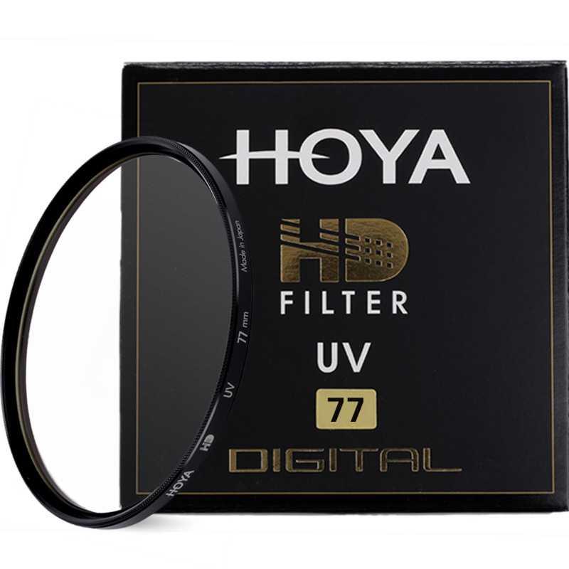Hoya HD UV Filtro 49mm 52mm 55mm 58mm 62mm 67mm 72mm 77mm 82mm di Vetro Temprato-layer Multi-Coated HD Digitale UV filtro