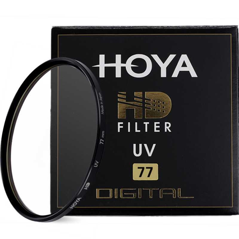 Hoya HD filtro UV 49mm 52mm 55mm 58mm 62mm 67mm 72mm 77mm 82mm vidrio endurecido 8 capas Multi-Coated Digital filtro UV HD