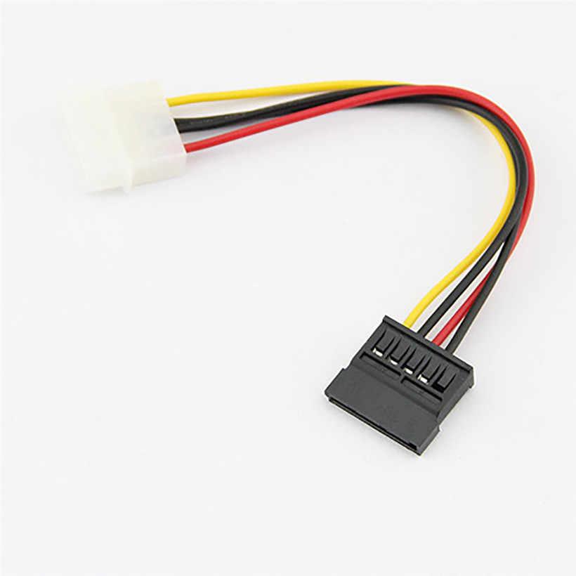 Nowy 18cm USB2.0 IDE do Serial ATA dysk twardy sata dysk twardy kabel zasilający drop shipping 0616