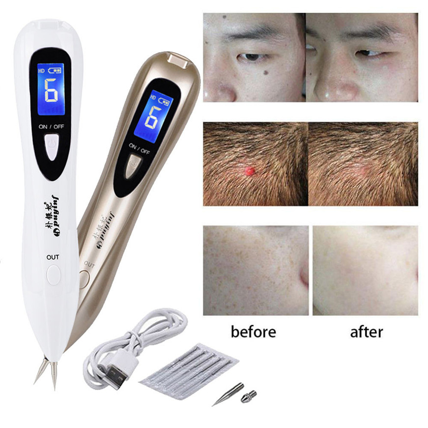 Electric lcd portable freckle warts dot mole dark spot for Freckle tattoo cost