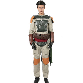 XCOSER Boba Fett Cosplay Costume Adult Full Set Outfits Star Wars Halloween Cosplay Fancy Dress Boba Fett Cosplay Costum For Men