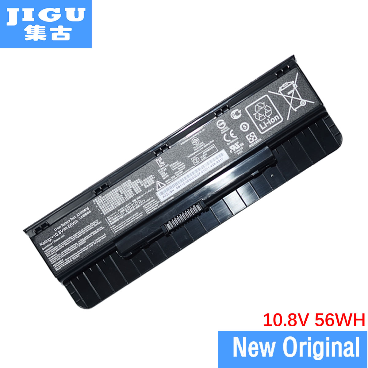 JIGU A32LI9H A32N1405 Original Laptop Battery For Asus G551 G551J G58 G771 GL551 GL771 N551 N751 10.8V 56WHJIGU A32LI9H A32N1405 Original Laptop Battery For Asus G551 G551J G58 G771 GL551 GL771 N551 N751 10.8V 56WH