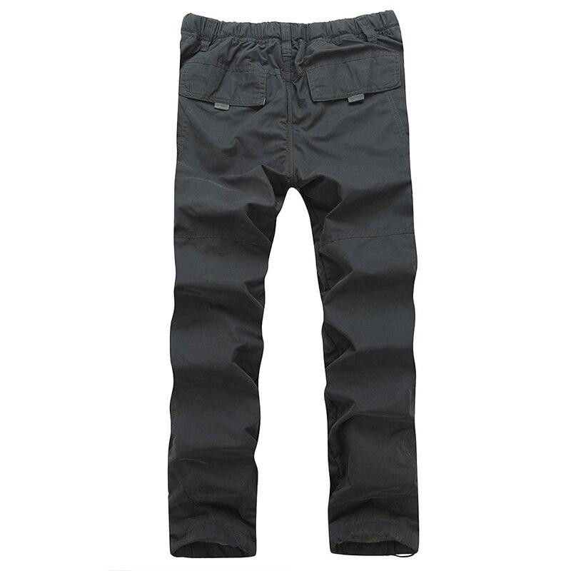 Di Tattico Dei Qualità Safari green Uomini Formato Sciolti Più 2018  Pantaloni Stile Caldo Gray Inverno ... 74af2cc30b83