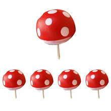 Affordable Pushpin mushroom design Red 5