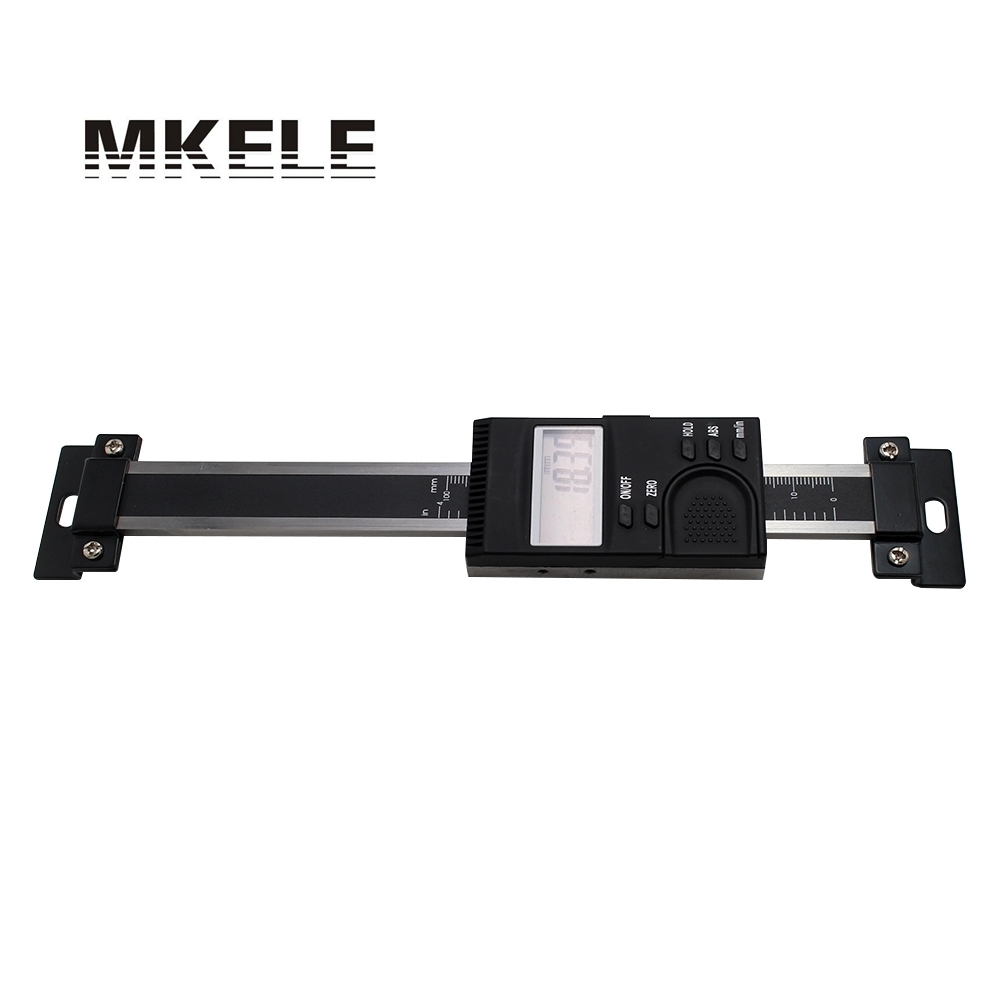 0 100mm Vertical Aluminum Alloy Digital Scale Scale Linear Measure Linear Scale Of Milling High Accuracy