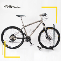 TiTo M610 30 Speed Titanium Alloy MTB Bike Ultralight 11 93 KG Bicycle Titanium Alloy Frame