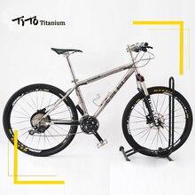 TiTo Titanium alloy MTB Bike 26 27.5 wheelset  M610 suits 30 Speed Ultralight 11.93 KG titanium bicycle
