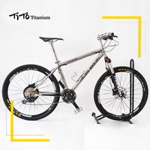 TiTo Titanium alloy MTB Bike 26 27.5 wheelset  M610 fits 30 Pace Ultralight 11.93 KG titanium bicycle