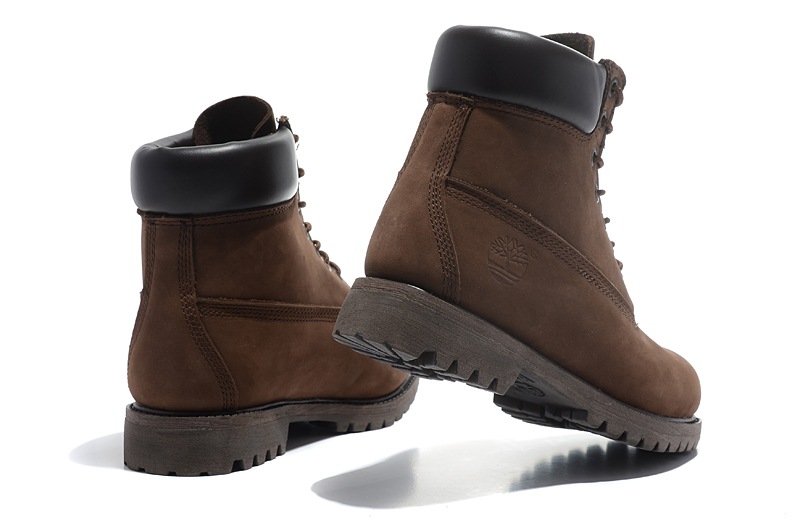 TIMBERLAND Classic Men 6-Inch Premium 10061 Dark Brown Ankle Motorcycle Boots For Man Genuine Cow Leather Martin Coffee Shoes  5