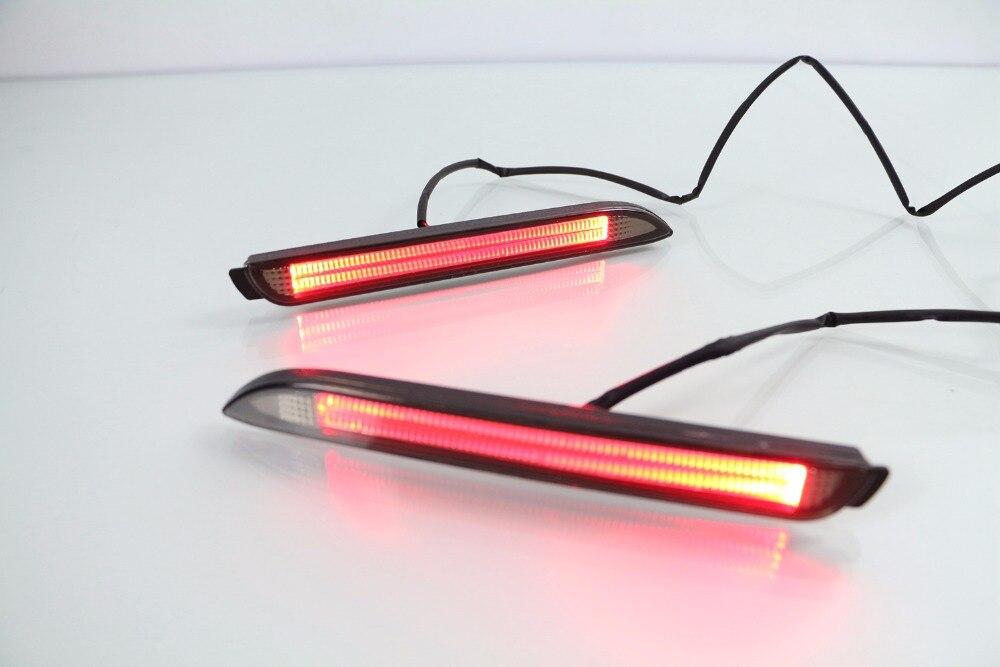 Osmrk новый для Тойота Камри/Реиз/желание/Сиенна/Иннова/Лексус ИСФ/GX470/RX300 5630 LED автомобиля задний бампер отражатель хвост тормоз свет бар