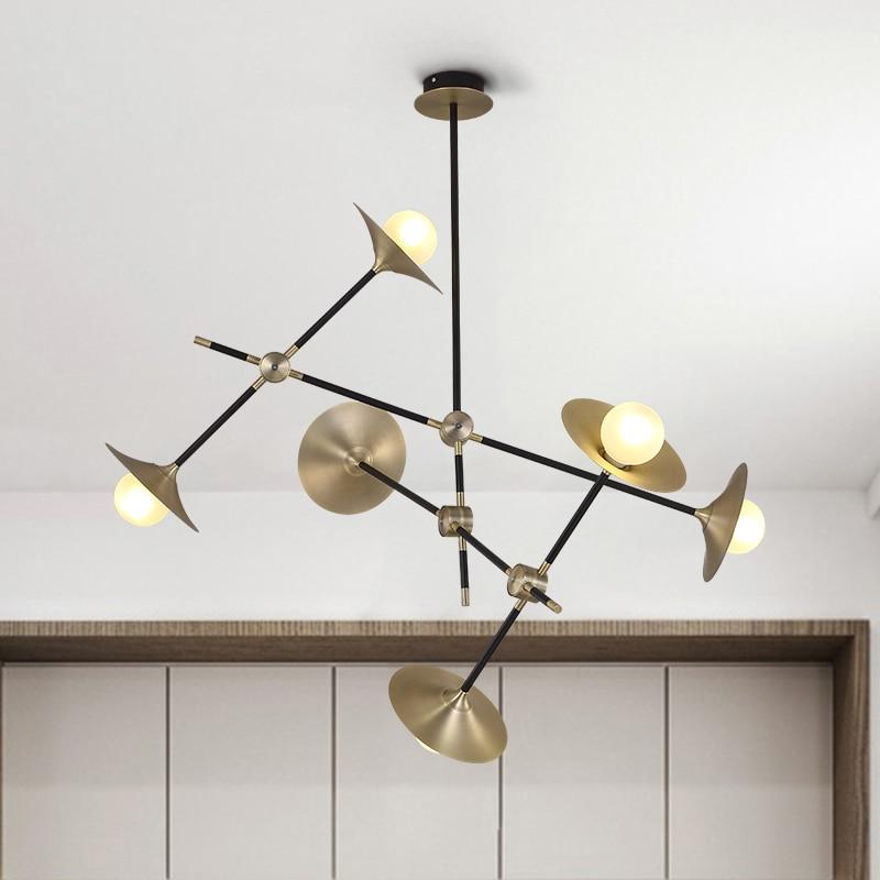 Modern Glass Led Pendant Light Speaker Style Dining Room Kitchen Designer Hanging Lamps Avize Suspension Luminaire стоимость